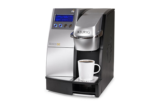 Single cup coffee machine
